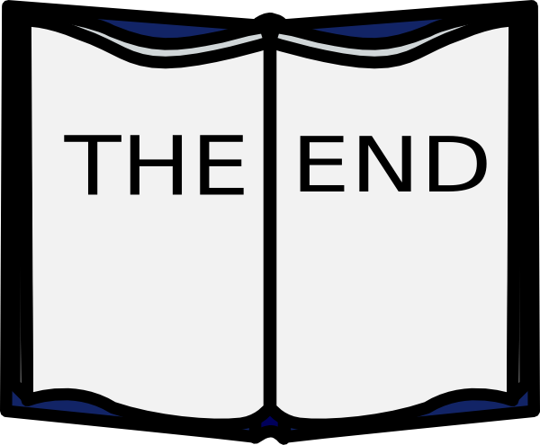 end animated clipart - The End Animated PNG