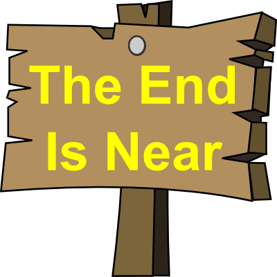 The End Is Near PNG-PlusPNG.com-400 - The End Is Near PNG