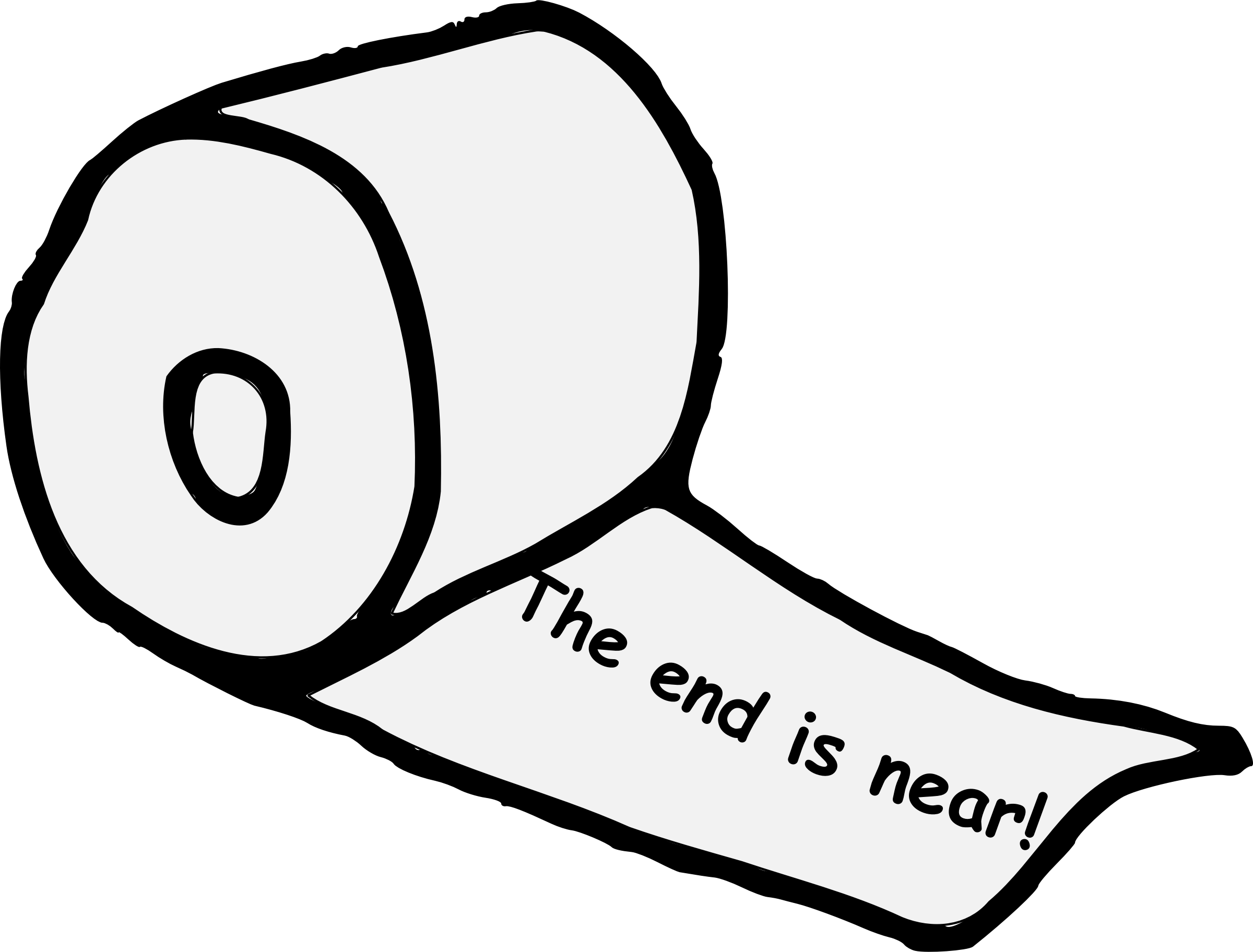 This free Icons Png design of The End Is Near! - The End Is Near PNG