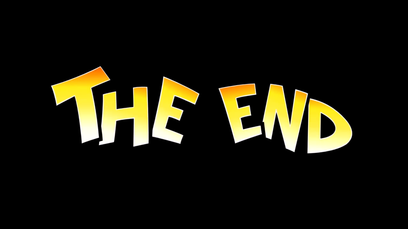 Coconapple THE END.png - The End PNG