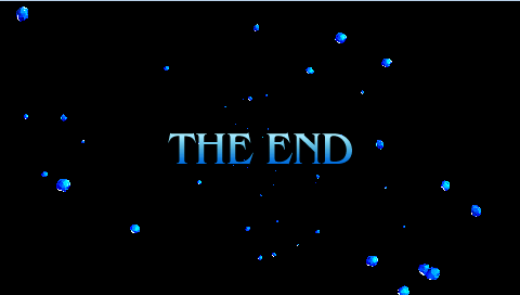 FFIVPSP The End.png - The End PNG