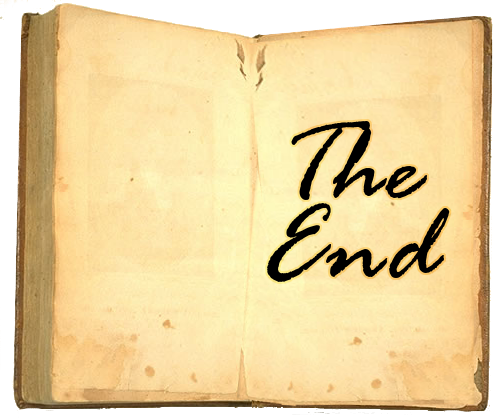 File:The End Book.png - The End PNG