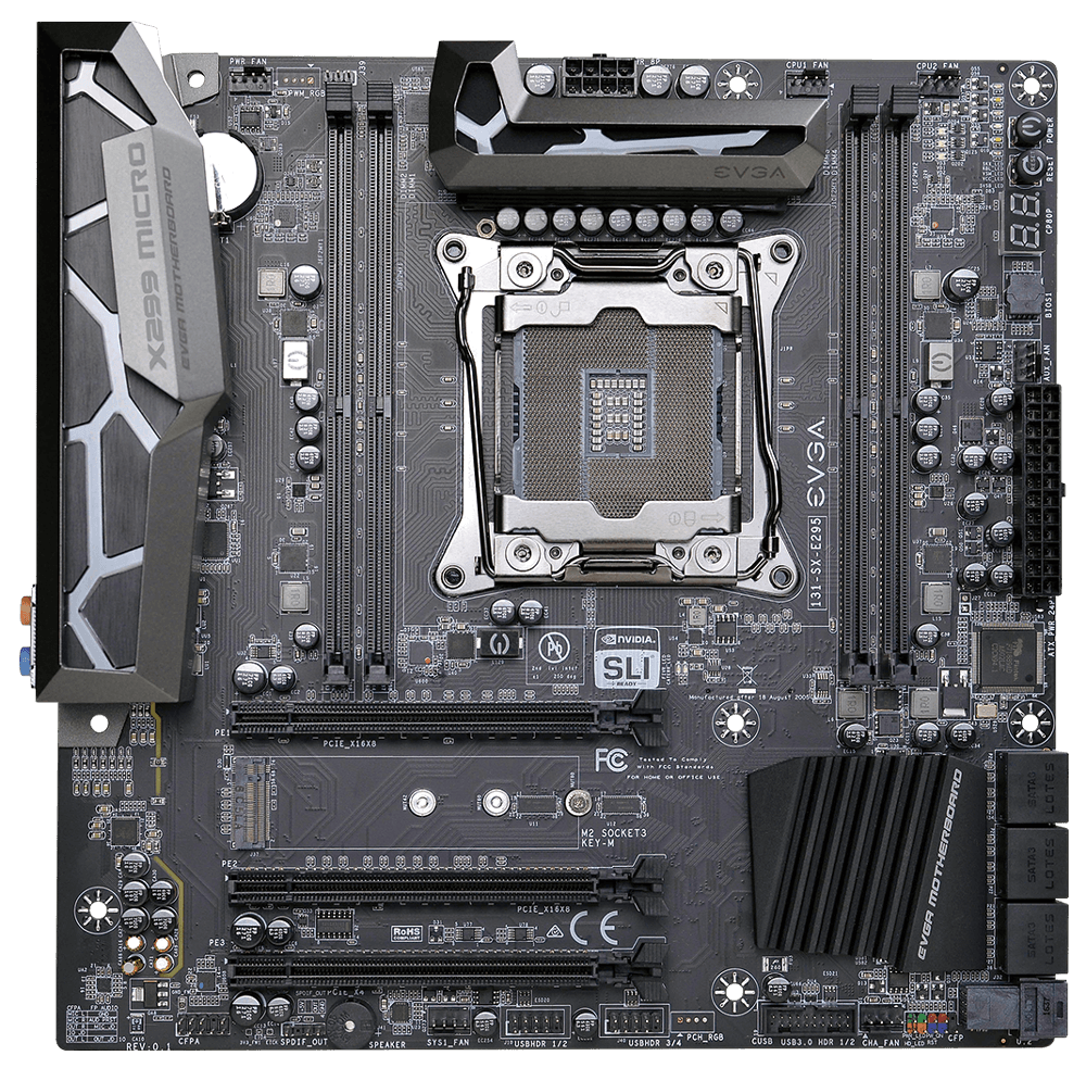 The EVGA X299 Micro packs amazing features into a mATX form factor. Built  to offer no compromises, the EVGA X299 Micro supports 4133MHz  memory  speed, PlusPng.com  - Motherboard PNG