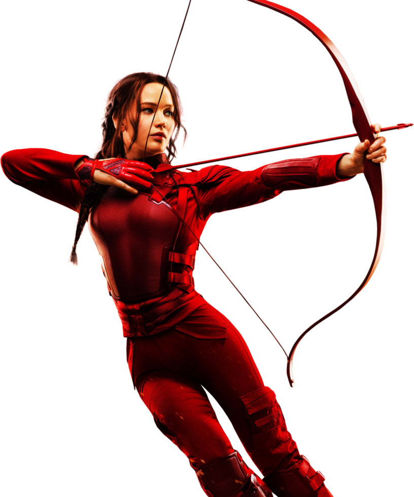The Hunger Games: Mockingjay - Katniss HQ PNG #02 by BrielleFantasy - The Hunger Games PNG