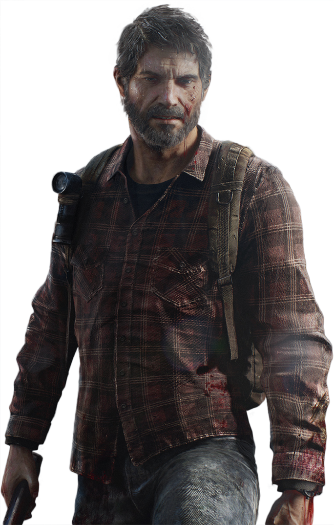Joel.png - The Last Of Us PNG