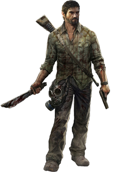 Joel the last of us render by elemental aura-d6buxhd.png - The Last Of Us PNG