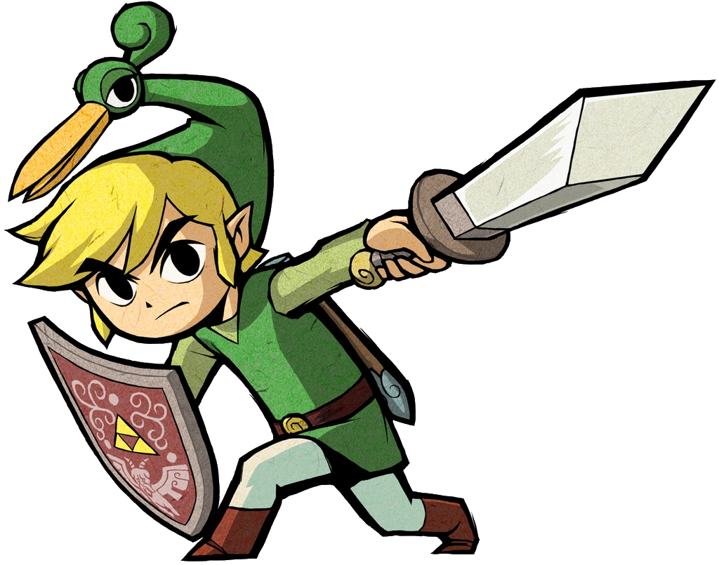 Image - Link Artwork 3 (The Minish Cap).png | Zeldapedia | FANDOM - The Legend Of Zelda PNG
