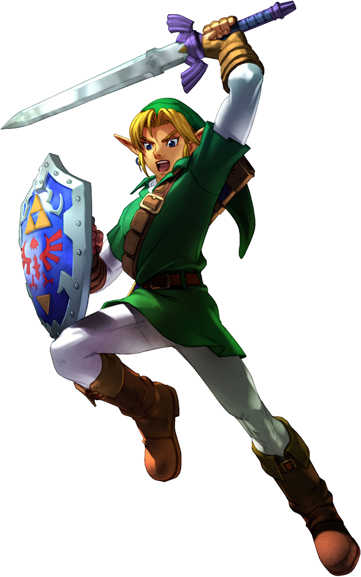 Link (Soulcalibur II).png - The Legend Of Zelda PNG
