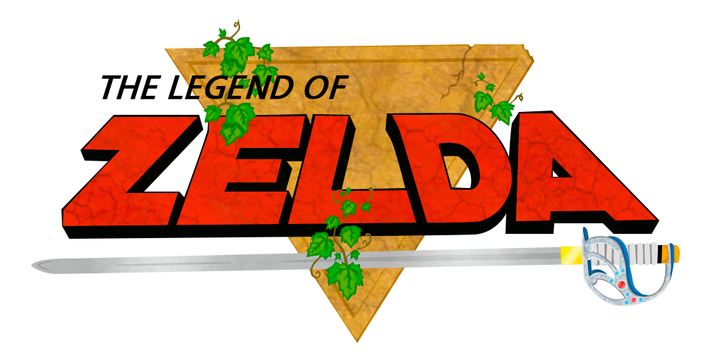 The Legend of Zelda Logo PNG Photos - The Legend Of Zelda PNG
