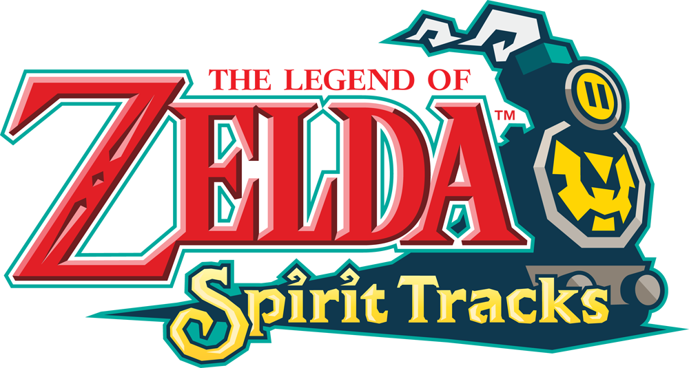 The Legend of Zelda - Spirit Tracks Logo.png - The Legend Of Zelda PNG