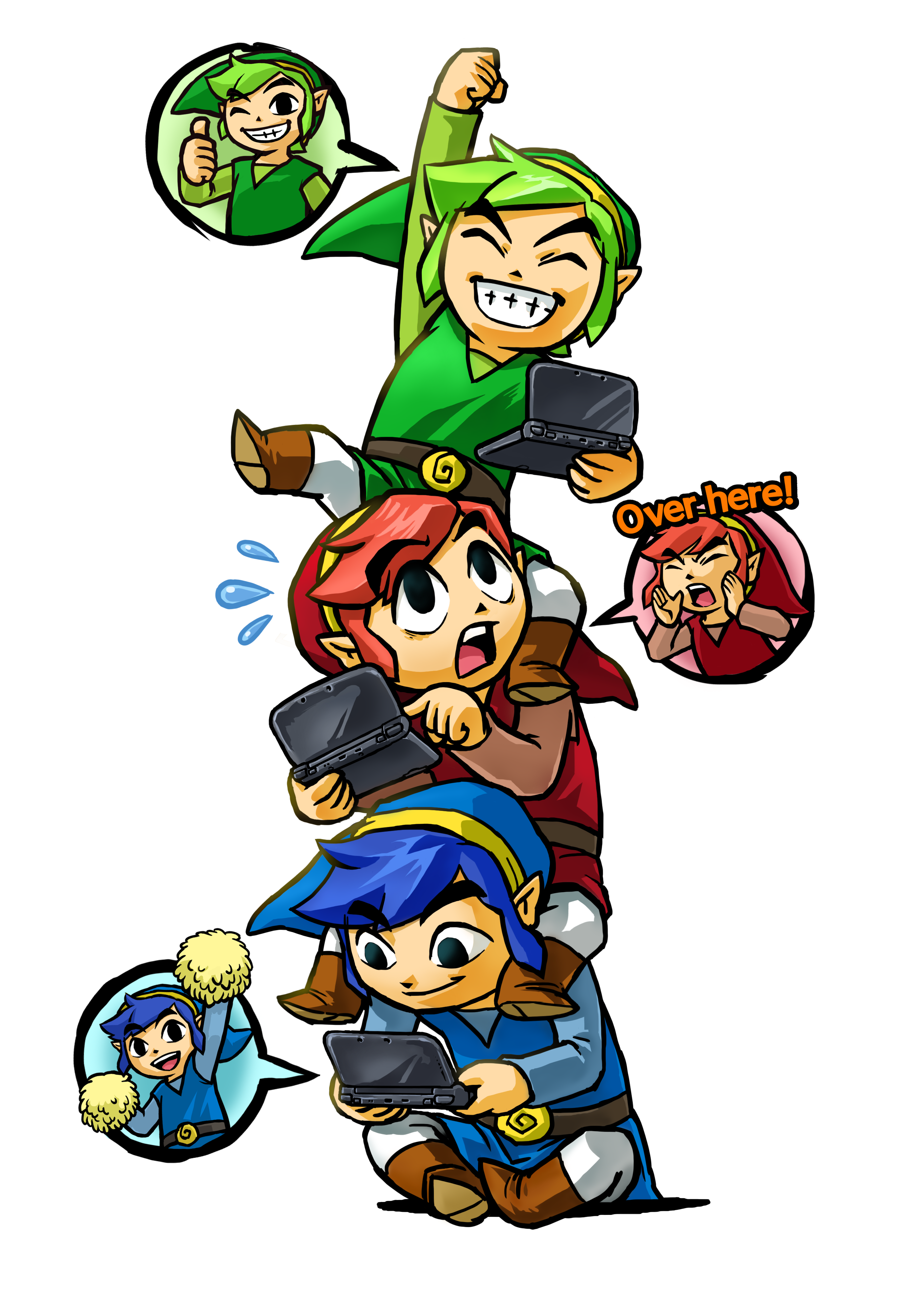 The Legend of Zelda: Triforce Heroes Screenshots and Artwork - The Legend Of Zelda PNG