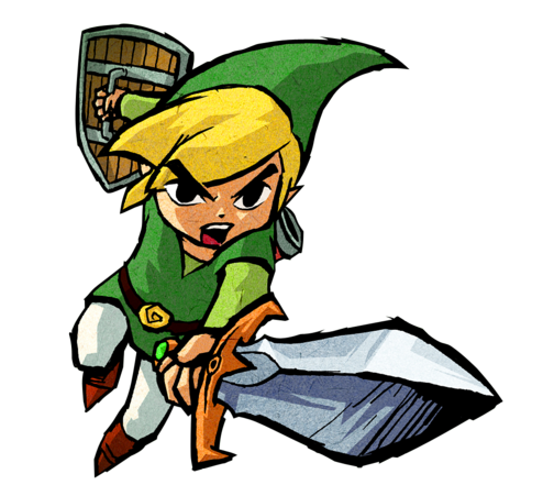 Wind Waker - Probably my favorite Zelda game. - The Legend Of Zelda PNG