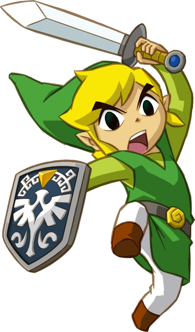 Zelda Link Clipart PNG Image - The Legend Of Zelda PNG