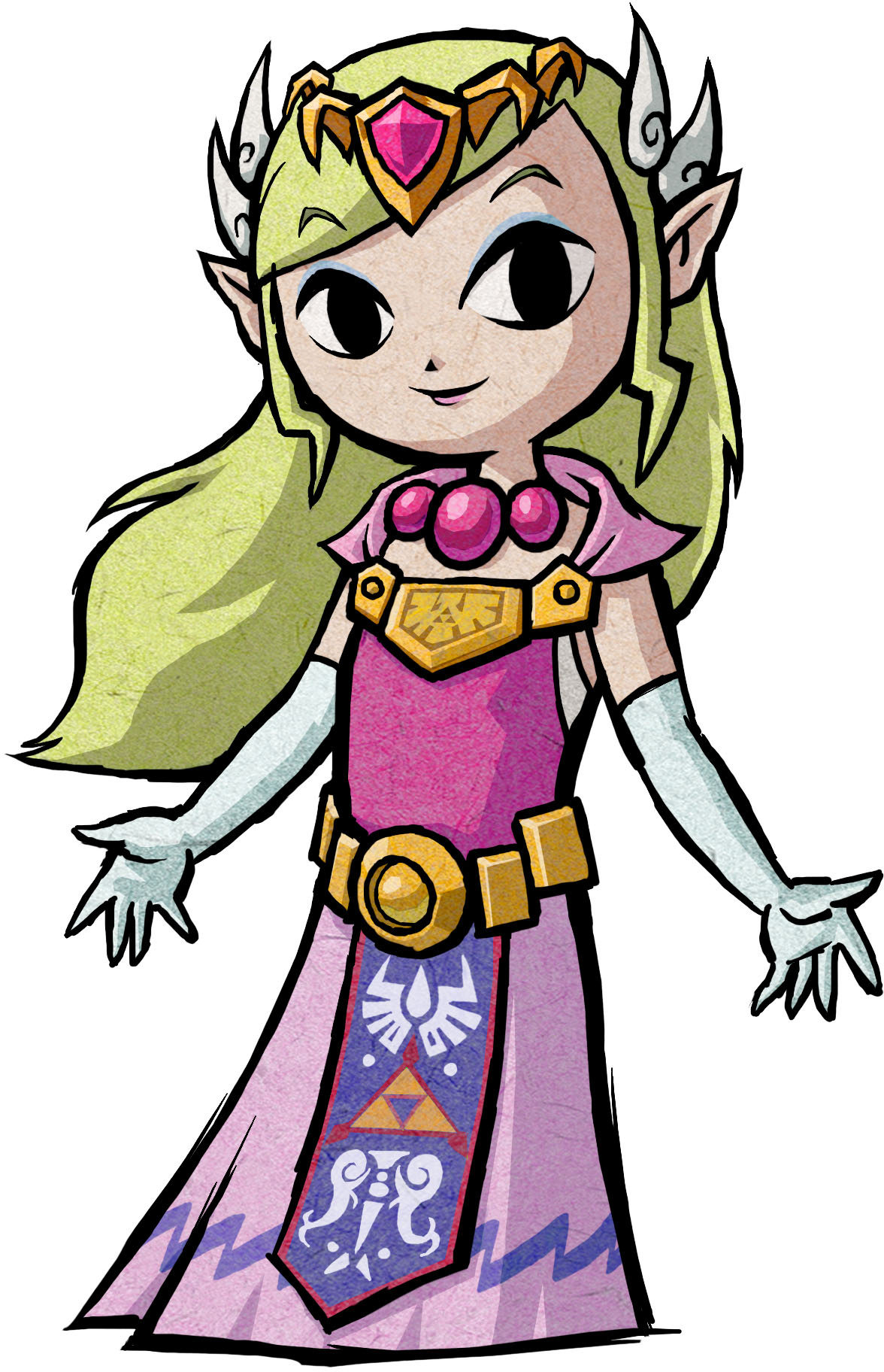 Zelda (The Legend of Zelda The Wind Waker).png - The Legend Of Zelda PNG