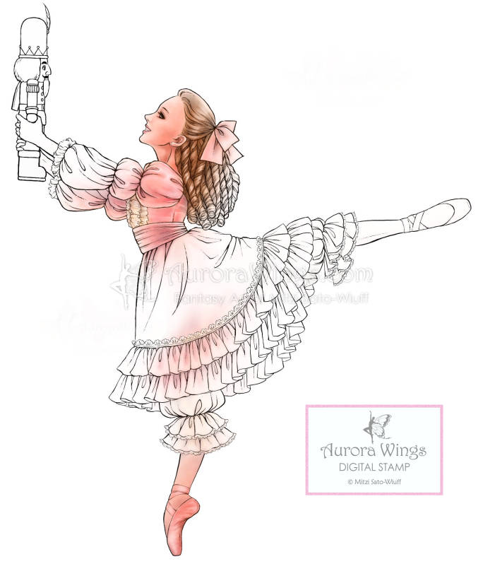 This is a digital file - The Nutcracker Ballet PNG