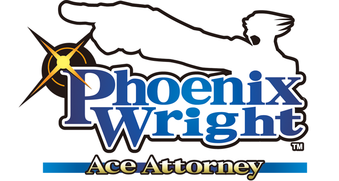 The Phoenix Wright: Ace Attorney Logo. - Ace Attorney PNG