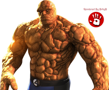 The-Ting-Fantastic-Four.png The Thing image by MOODY_STARRS1 - Thing PNG
