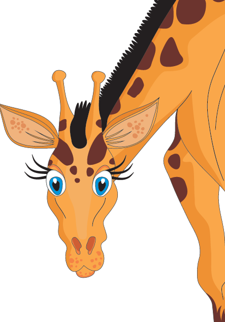 Giraffe Animal Facts Zoo Animals Songs Interesting Giraffe Facts For Kids -  Animal PNG HD For - The Zoo PNG HD