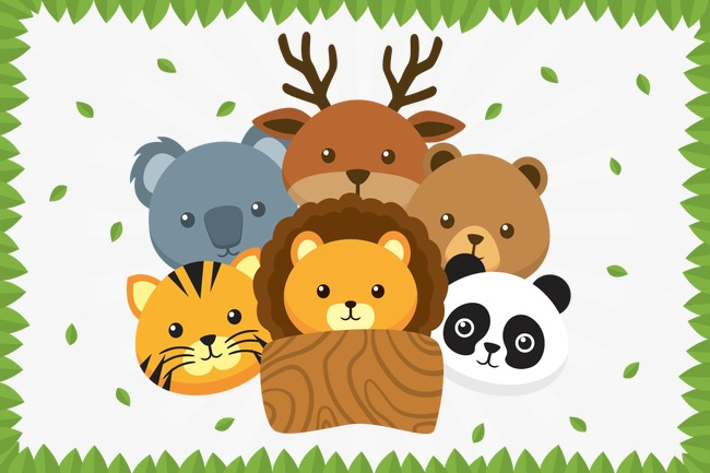 Vector Animal listing, HD, Vector, Zoo PNG and Vector - The Zoo PNG HD