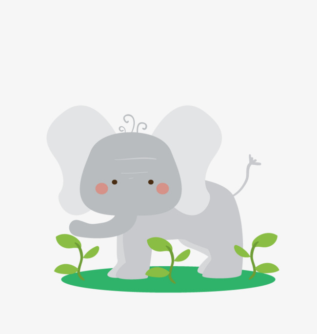 Vector Elephants, HD, Vector, Zoo Elephant Free PNG and Vector - The Zoo PNG HD