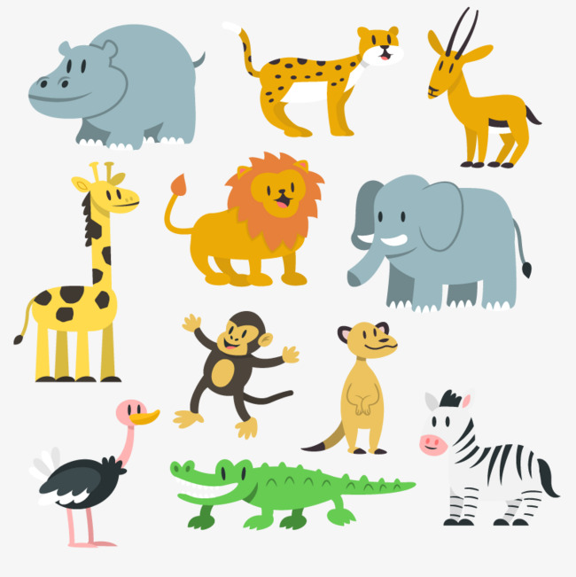 Vector zoo, PNG Image, HD, Vector Material Free PNG and Vector - The Zoo PNG HD