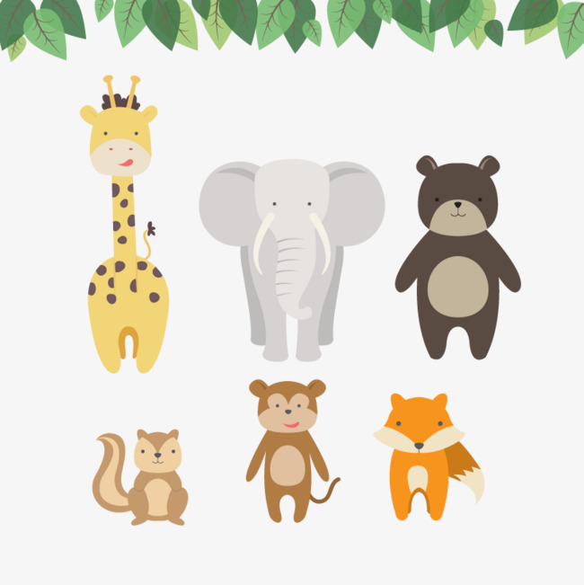Vector zoo, Vector, Hd, Giraffe Free PNG and Vector - The Zoo PNG HD