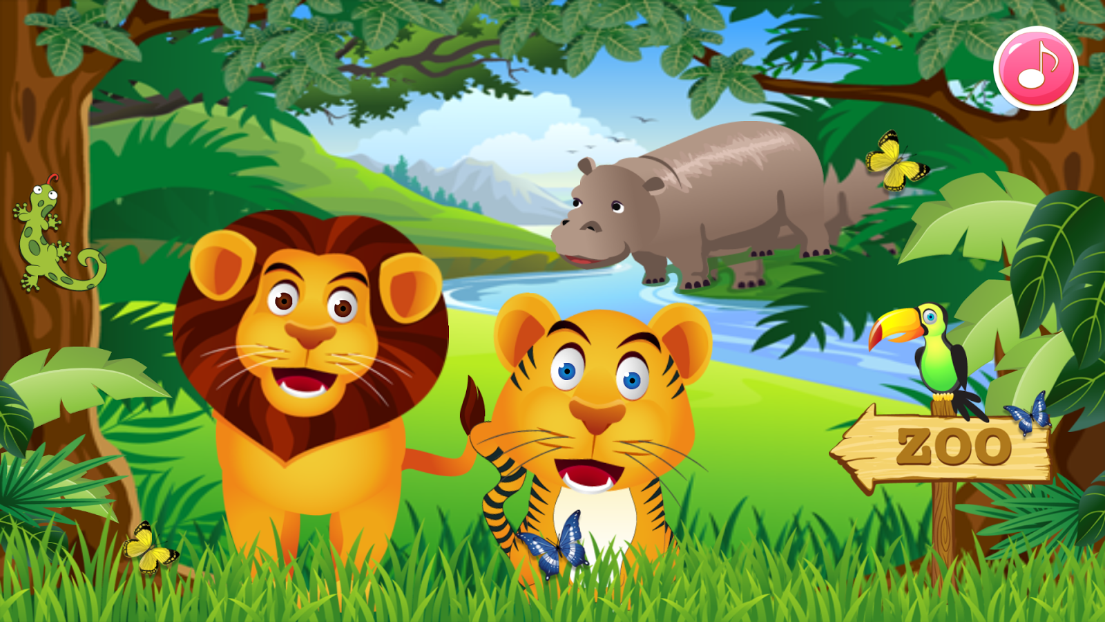 Zoo Animal Family Learning!- screenshot - Animal PNG HD For Kids Free - The Zoo PNG HD