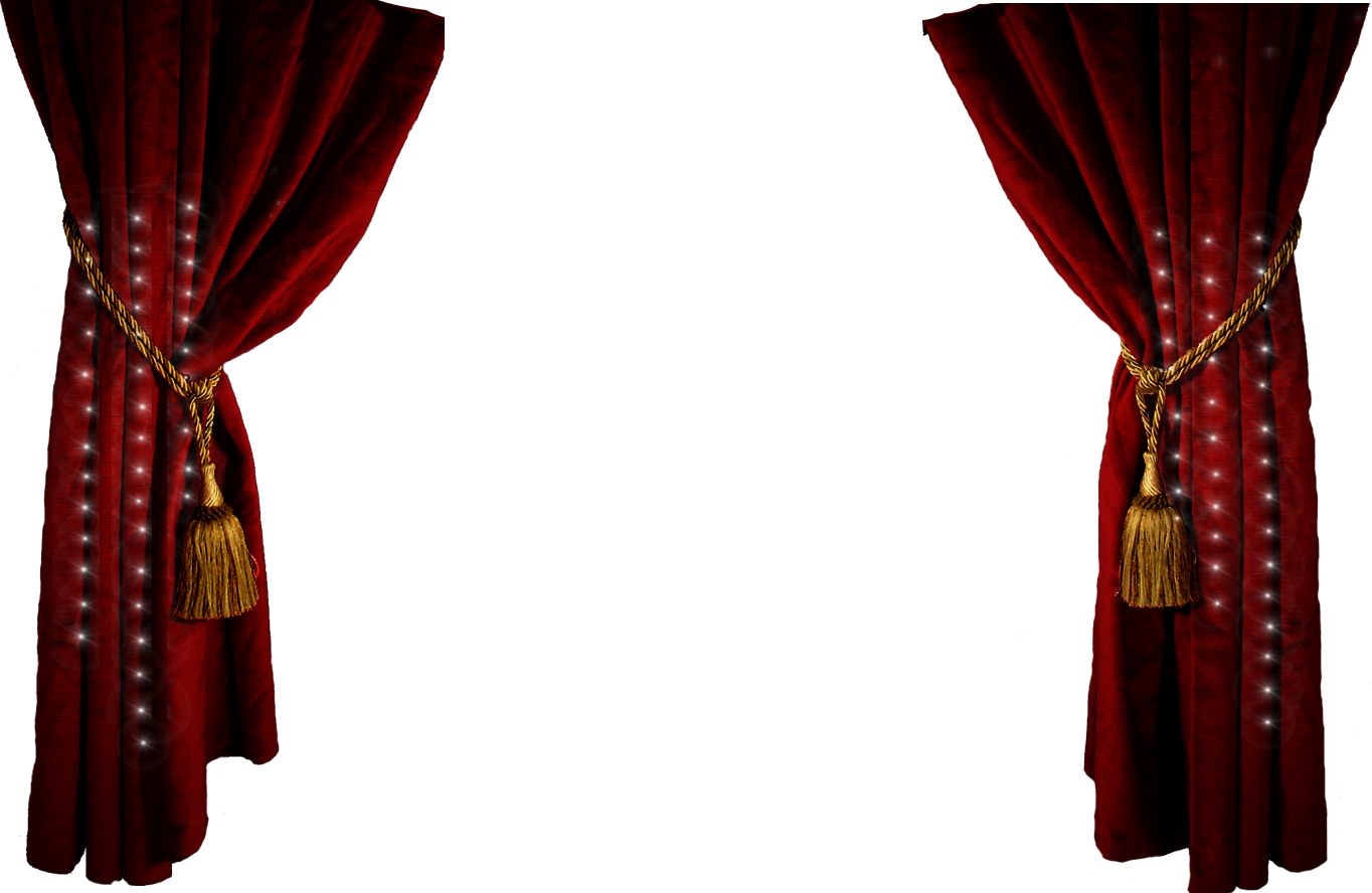 Theater Curtain Clipart. - Theatre PNG HD