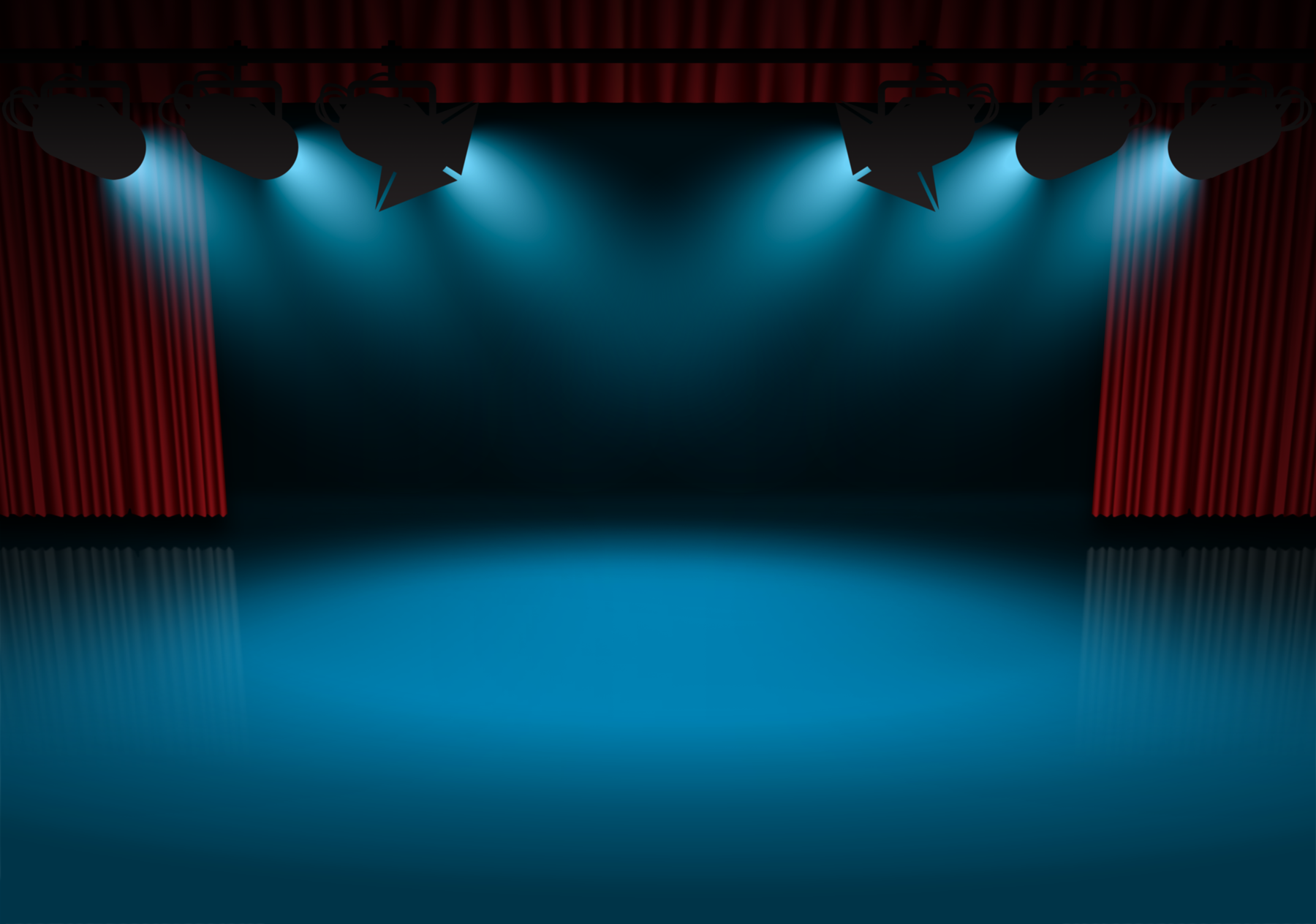 Theatre clipart stage background #5 - Theatre PNG HD