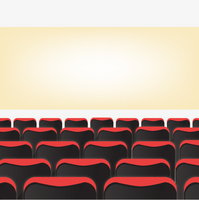 Vector Movie Theatre, Hd, Vector, Chair Free PNG and Vector - Theatre PNG HD