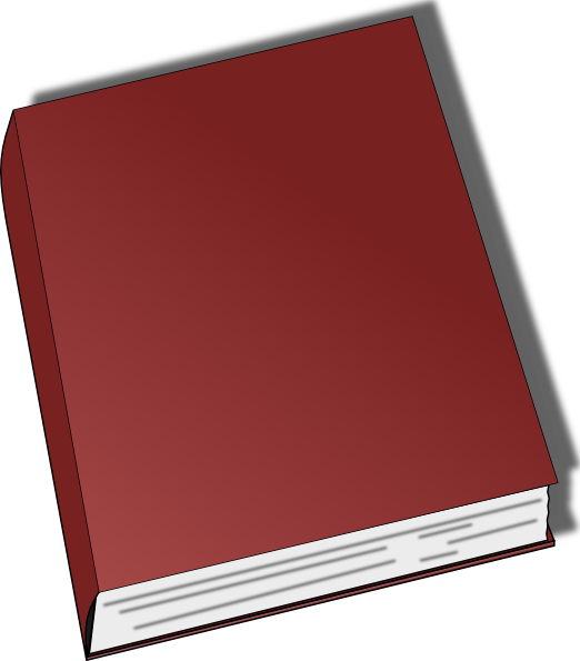 Download this image as: - Thin Book PNG