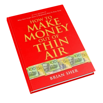How To Make Money Out Of Thin Air - Thin Book PNG