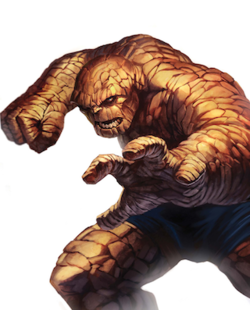 Thing Dark Reign Fantastic Four.png - Thing PNG