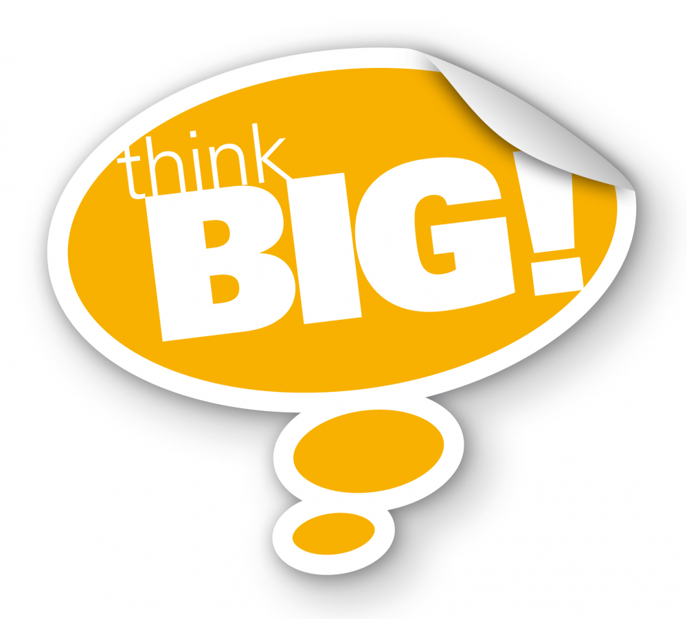 Think Big PNG