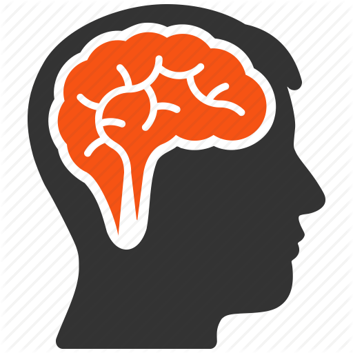 brain, head, idea, memory, mind, think, thinking icon - Brain - Thinking Brain PNG HD