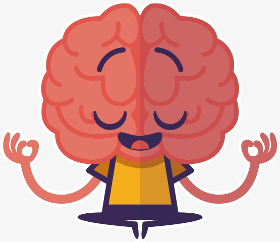 Thinking brain, Brain, Cartoon, Vector Free PNG and Vector - Thinking Brain PNG HD