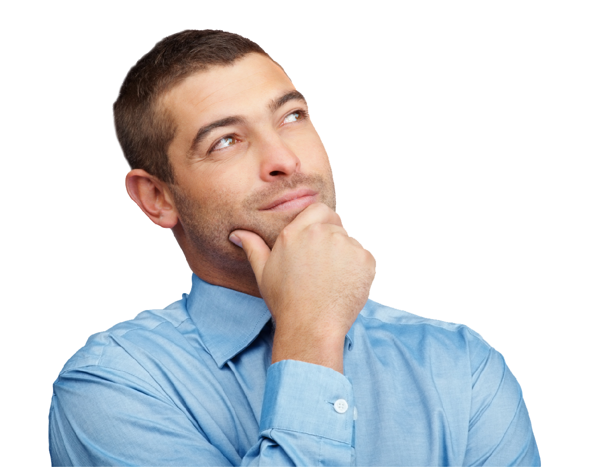 Thinking Person PNG HD