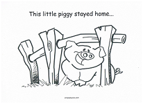 This Little Piggy Went To Market PNG - 55382