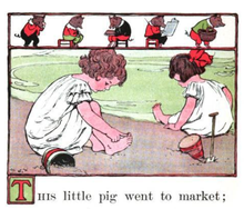 This Little Piggy Went To Market PNG - 55371