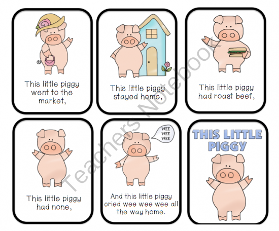 This Little Piggy Went To Market PNG - 55367