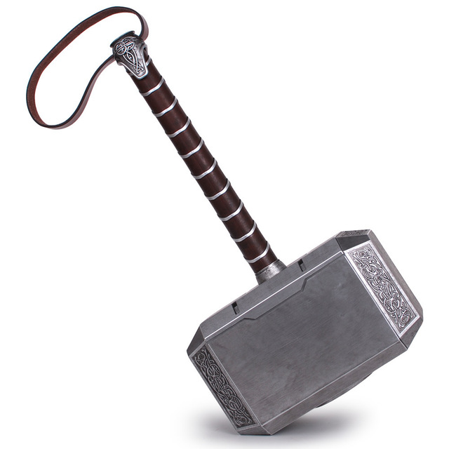 1:1 Scale Full Metal Thor Hammer Mjolnir 1/1 Replica Thor Custom Cosplay - Thor Hammer PNG