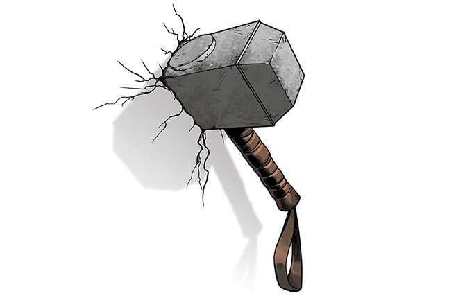 Thor Hammer PNG - 60250