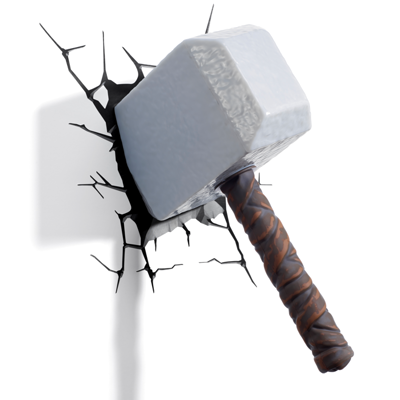 Thor Hammer PNG - 60252