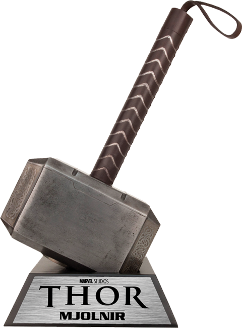 Thor Hammer Prop Replica - Thor Hammer PNG
