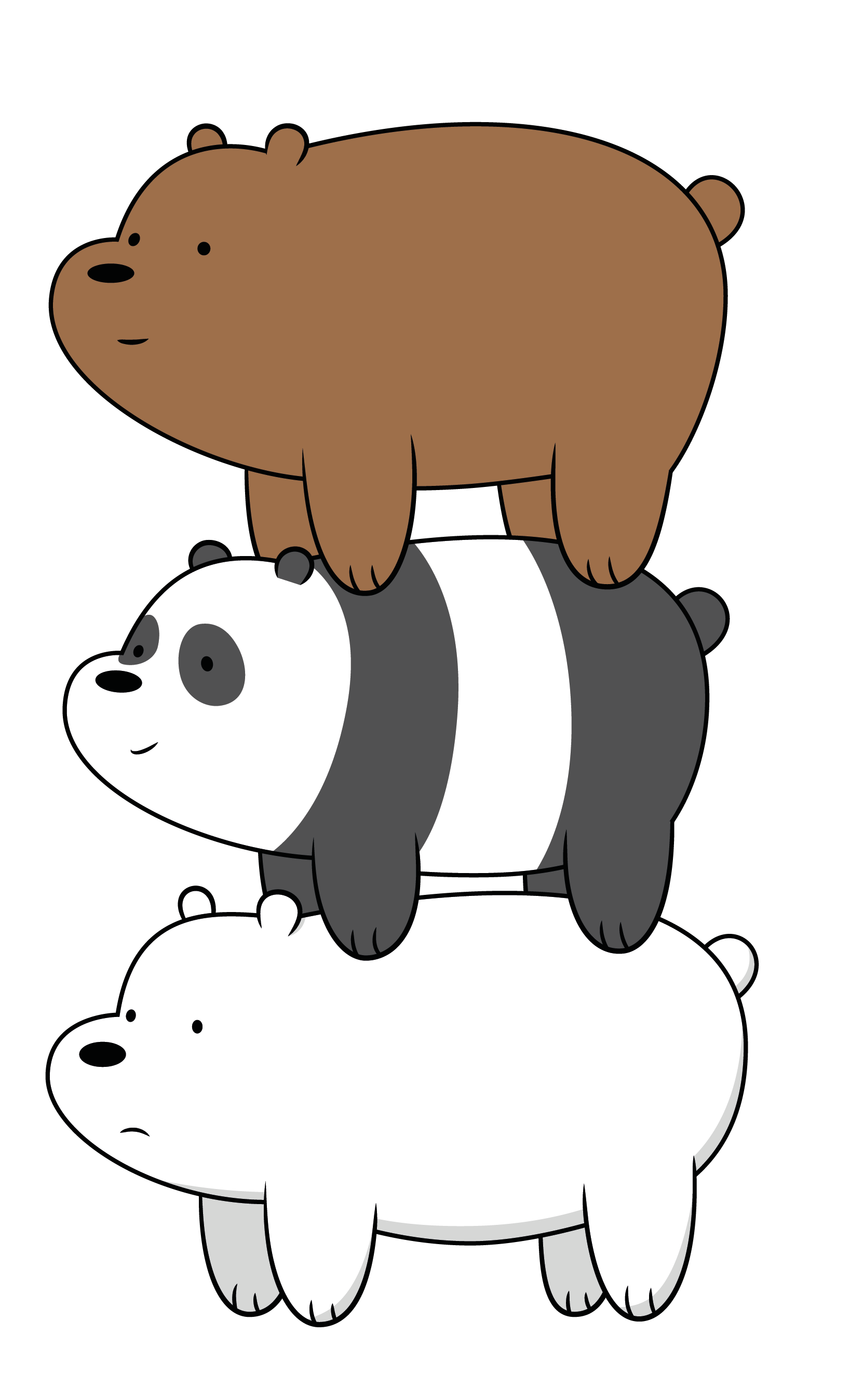 Three Bears PNG - 158314