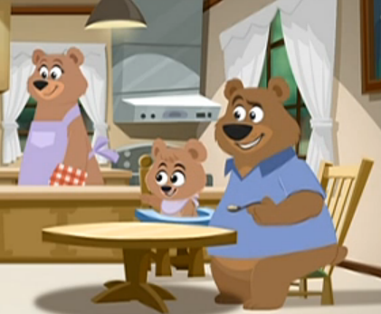 File:The Three Bears.png - Three Bears PNG