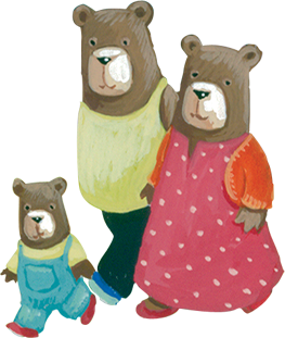 ladybird books, ladybird treasured tales,. Photo of The Three Bears PlusPng.com  - Three Bears PNG