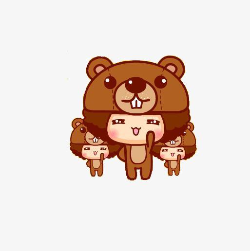 Three Bears PNG - 158309