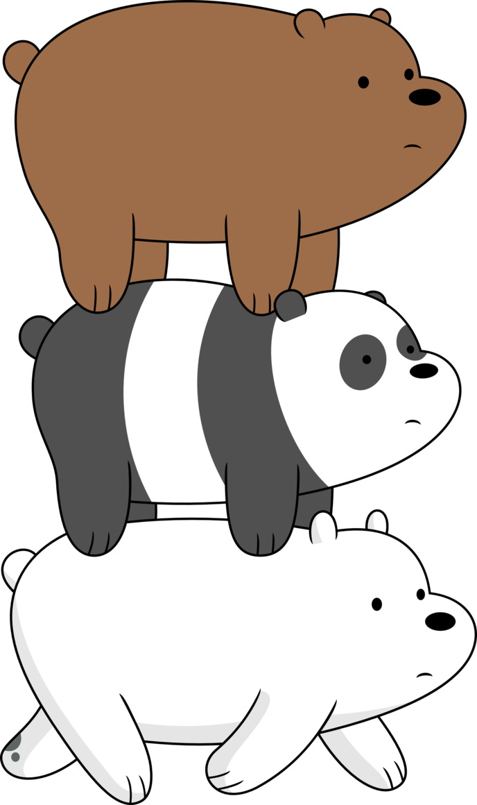 Three Bears PNG - 158306