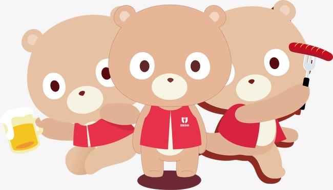 Three Bears PNG - 158322